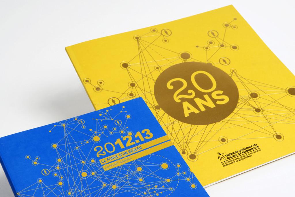 Rapport annuel et livre 20 ans