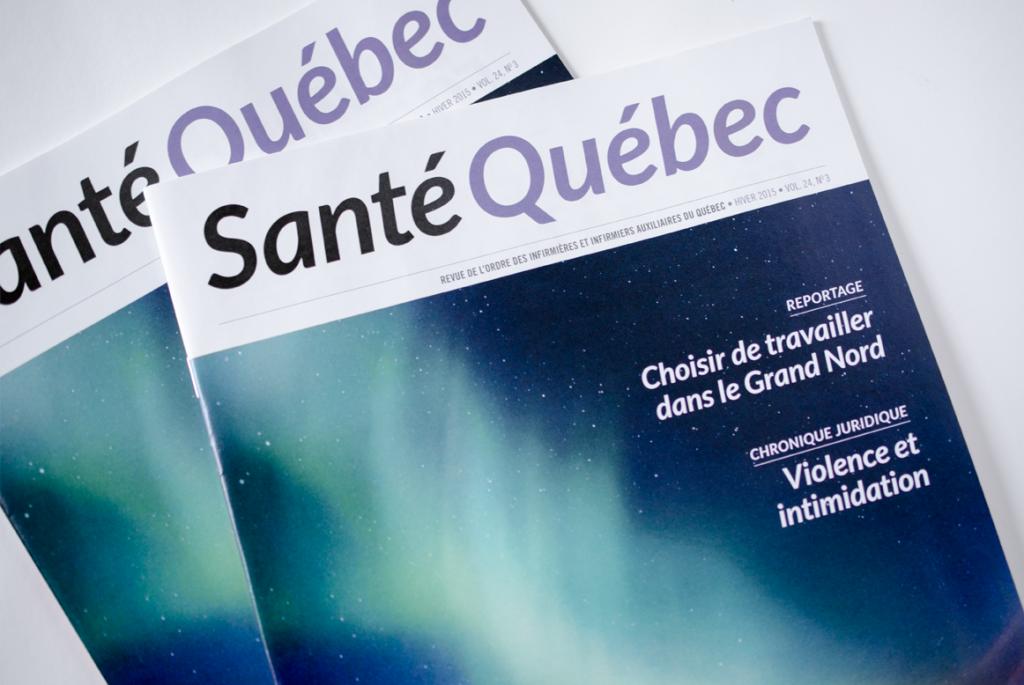 Magazine SANTÉ QUÉBEC